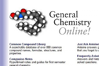 General Chemistry Online