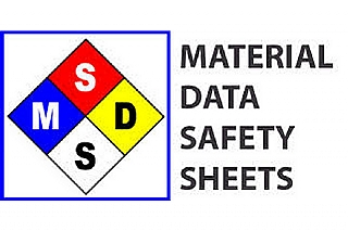 דפי MSDS - Material Safety Data Sheets (הגדל)