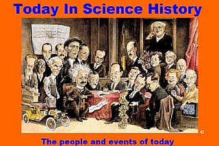 Today in Science History (הגדל)